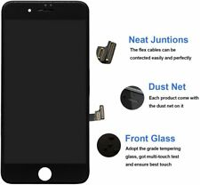 """Black for iPhone 7 & 8 , 4.7"""" A1660 Touch Screen Digitizer LCD Display UK"""