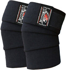 Knee Wraps Weight Lifting Bandage Straps Braces Sleeves Powerlifting Gym