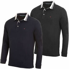 Tommy Hilfiger Cotton Long Sleeve Polo Casual Shirts for Men