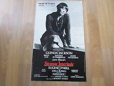 STRANGE Interlude Glenda JACKSON & COX Original DUKE of YORK'S Theatre Poster