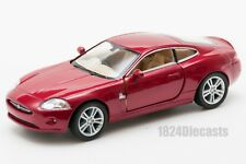 Jaguar XK Coupe in red, Kinsmart KT5321D, 1:38 scale, 5 inch model toy car gift