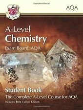 A-level Chemistry for AQA Year 1 and 2 Student Book With Online Edition CGP