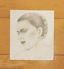 FRIDA KAHLO GRAPHITE GRAPHITE ON PAPER SIGNED DRAWING