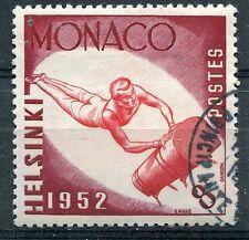 TIMBRE  MONACO N° 390   CHEVAL ARCONS