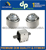 ENGINE MOTOR TRANSMISSION MOUNT MOUNTS for MERCEDES W203 C350 C280 4MATIC SET 3