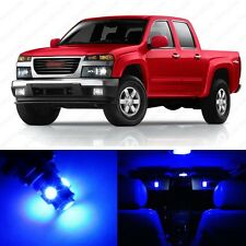 7 x Ultra Blue LED Interior Light Package For 2004 - 2013 GMC Canyon