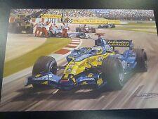2006 Spanish GP, Bracelona, Renault Fernando Alonso, door Michael Turner