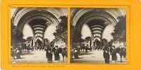 FRANCE Paris Exposition Universelle 1900 La Porte Monumentale, Stereo PL61L12n9