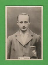 CRICKET - MILLHOFF -  SCARCE  TEST  CRICKETER  CARD  -  A.  P.  FREEMAN  -  1928