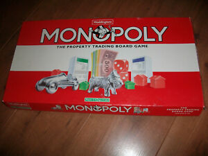 Monopoly Spare Parts Pieces Cards Money Tokens Houses etc 1995 Edition