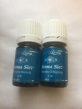 Young Living Aroma Siez Essential Oil Blends 2 x 5ml