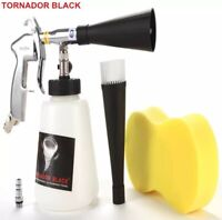 TORNADOR BLACK Z-020 Air Car Cleaning Gun Pneumatic Car Tool Dry Cleaner