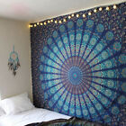 Indian Tapestry Elephant Mandala Throw Bed Wall Hanging Bedspread Beach Towel