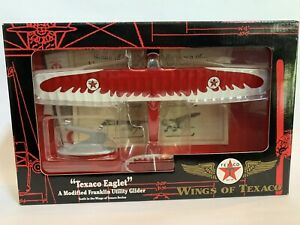 Ertl Wings of Texaco #10 Modified Franklin Utility Glider Die Cast Bank NIB