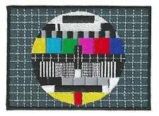 Patch écusson patche Mire télé TV Screen thermocollant hotfix brodé