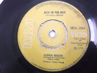 "CLODAGH RODGERS jack in the box/wind of change RARE SINGLE 7"" INDIA 45 VG+"