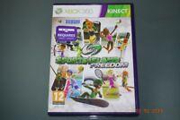 Sports Island Freedom Xbox 360 Kinect UK PAL (No Manual) **FREE UK POSTAGE**
