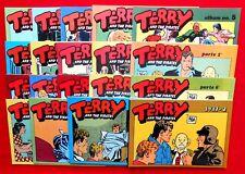 TERRY AND THE PIRATES # 1/61 1975 COMPLETA  COLLANA YELLOW KID  EDIZ. COMIC ART