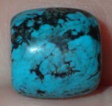 12mm Natural Indo - Tibetan, Tibet Turquoise bead, #S2575