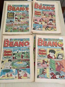 62 issues VINTAGE UK COMICS 1985 - BEANO, BEEZER, DANDY, BUSTER