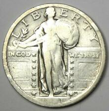 1921 Standing Liberty Quarter 25C - Fine Details - Rare Date Coin!