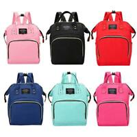 Women Mummy Maternity Travel Backpack Large Capacity Baby Nursing Diaper Handbag