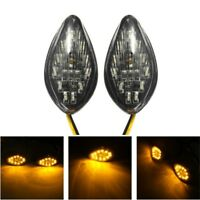 12V 3W 100lm Motorcycle Turn Signal Light LED Yellow Lamp IP67