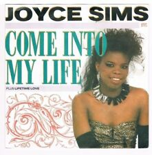 "Joyce Sims - Come into my life / Lifetime love / 7"" Single von 1987"