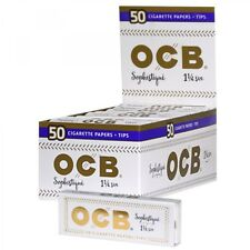 6x Packs OCB Sophistique 1.25 ( 50 Leaves / Papers Each Pack ) Rolling  W/ Tips
