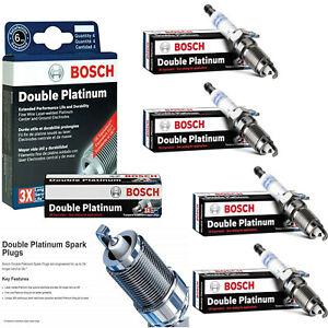 For 1996-2002 CHEVROLET CAVALIER L4-2.4L 4Pcs OE Double Platinum Spark Plug 8108