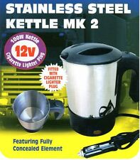 12V STAINLESS STEEL JUG CAB KETTLE for TRUCK / LORRY with CIG cigar plug