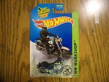 2014 Hot Wheels SUPER Treasure Hunt HARLEY-DAVIDSON FAT BOY