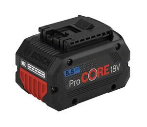 Bosch Professional Akku ProCORE 18V 5.5Ah, 1600A02149, NEU!!!