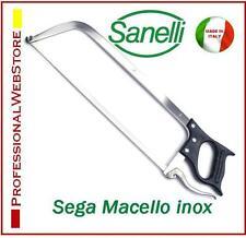 SEGA MACELLO PROFESSIONALE ACCIAIO INOX LAMA CM 45 MACELLARE SANELLI SEGHE