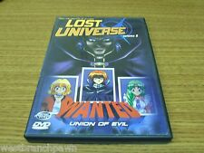 Lost Universe - Vol. 5: Union of Evil (Anime DVD, 2001) with insert! NICE! B#1