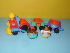 Playskool Weebles Rock and Roll Shape sorter train w/ 2 Original Figures