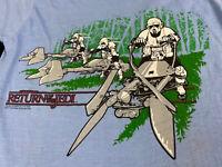 Deadstock Vintage 1983 Star Wars Jedi storm troopers Screen Stars Union T-shirt