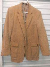 Vintage Men's Corduroy Jacket Blazer Coat Tan SZ 42R