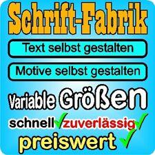 Cartattoo Gestalten Wunschtext Tuning Autoaufkleber Sticker Schriftzug Aufkleber