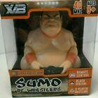 XB Black Rikishi Sumo RC Wrestler Electronic Japanese Toys Wrestling Doll NEW