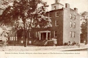 ~1920's NEWARK DE - Newark Academy where 3 signers of The Declaration studied