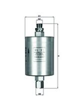 Kraftstofffilter - Mahle KL 21