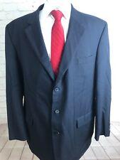 Paul Dione Mens Navy Striped Blazer 48 L $595