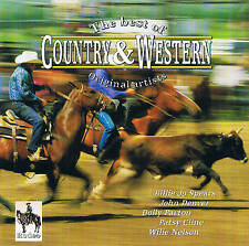 "The Best Of COUNTRY & WESTERN ""The Original Artistes 17 Piste"" CD"