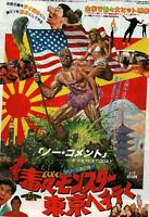 The Toxic Avenger Part 2 1989 Troma Japanese Mini Movie Poster Chirashi B5