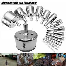 16Pcs Diamond Holesaw Drill Bit Set Tile Porcelain Glass Marble Ceramic Cutter