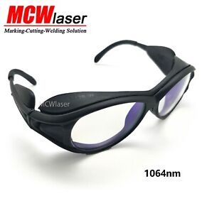 Fiber Laser Safty Protective Goggles Glasses 1064nm Marking Cutting Beauty CE