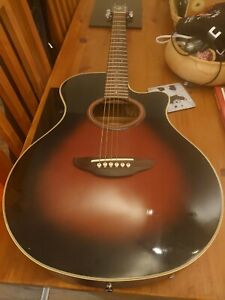 Yamaha APX 4A Electro Acoustic guitar  - superb action. Great Condition