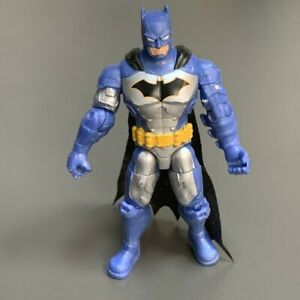 """DC The Caped Crusader Batman Tactical Suit Gold Emblem 4"""" Figure Spin Master Toy"""