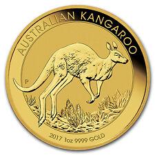 SPECIAL PRICE! 2017 Australia 1 oz Gold Kangaroo BU - SKU #114788